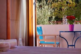 Our accommodation in Perissa Santorini