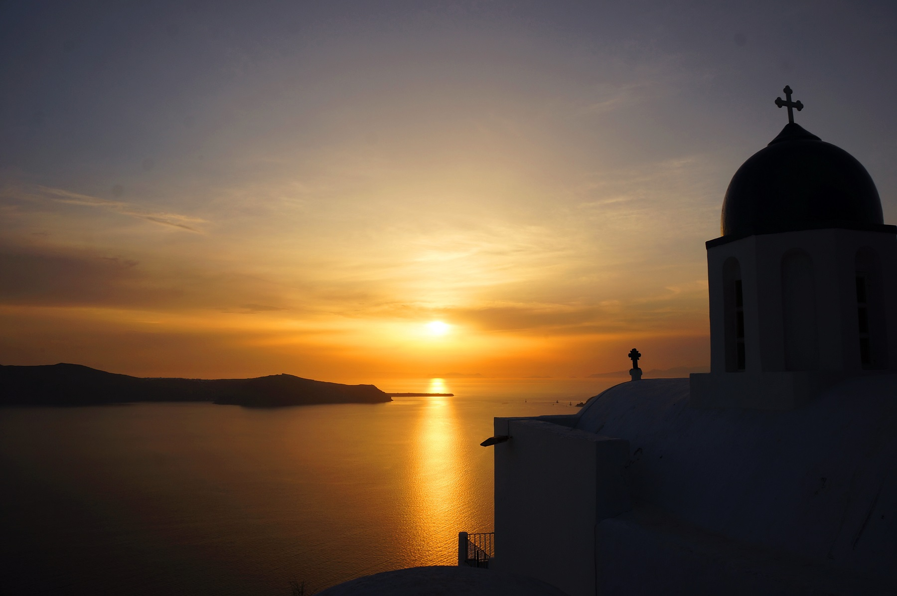 Sunset in Santorini 2017