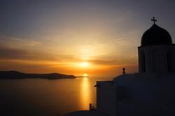 Sunset in Santorini 2017