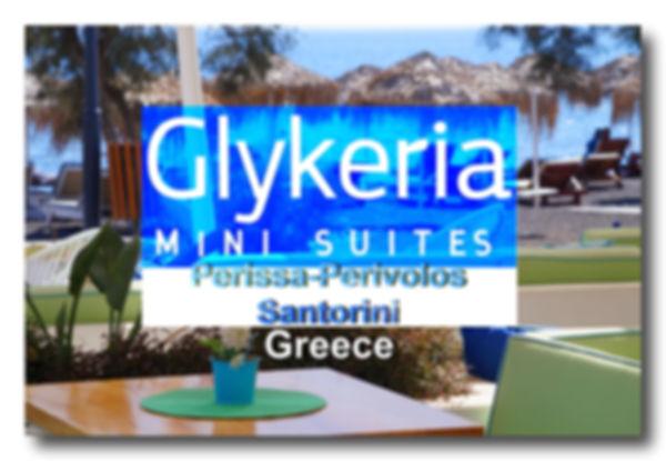 Glykeria Hotel in Perissa beach Santorini