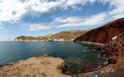 Κόκκινη παραλία Ακρωτήρι Σαντορίνη