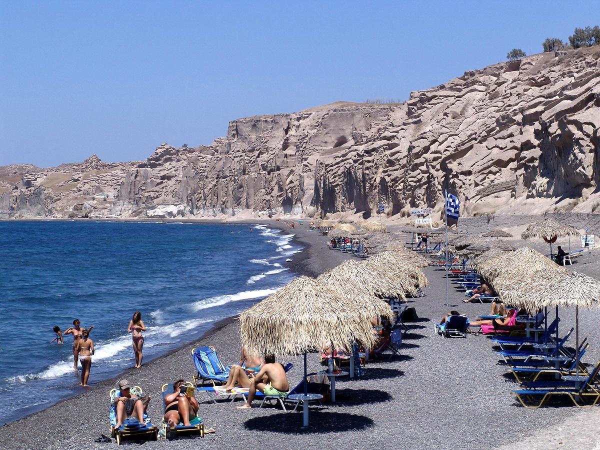 Παραλία Βλυχάδα Σαντορίνη