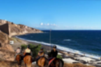 horse rides and tours in santorini