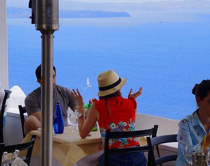 restaurants in oia santorini