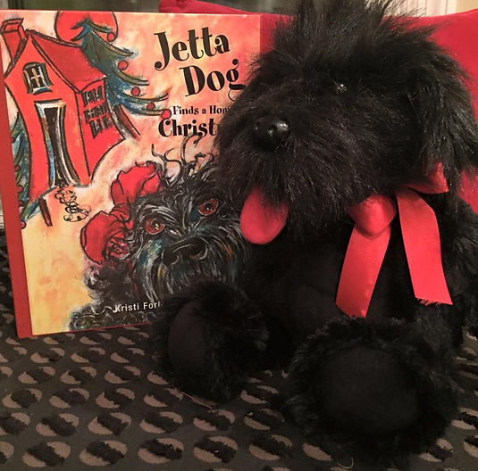 Jetta Dog Book and Plush Gift Set