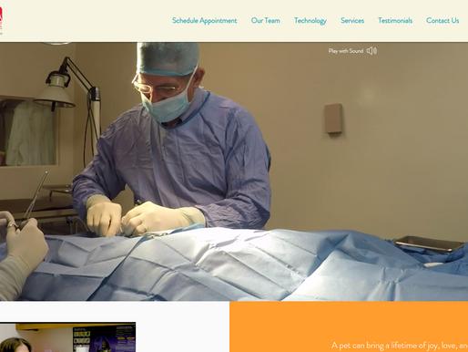 Website Design | Onslow Animal Hospital | Jacksonville NC