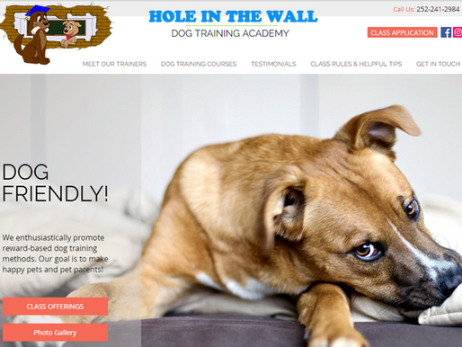Website Design | Hole in the Wall | Morehead City NC