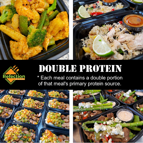 Double Protein Meal Plan