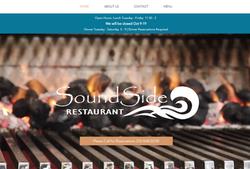 Website Build SoundSide Restaurant Morehead City