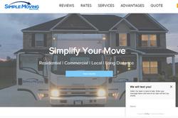 Website Design 2020 Simply Moving Georgia