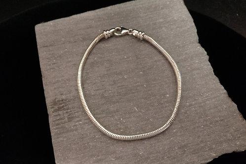 Silver Memory Link Bracelet