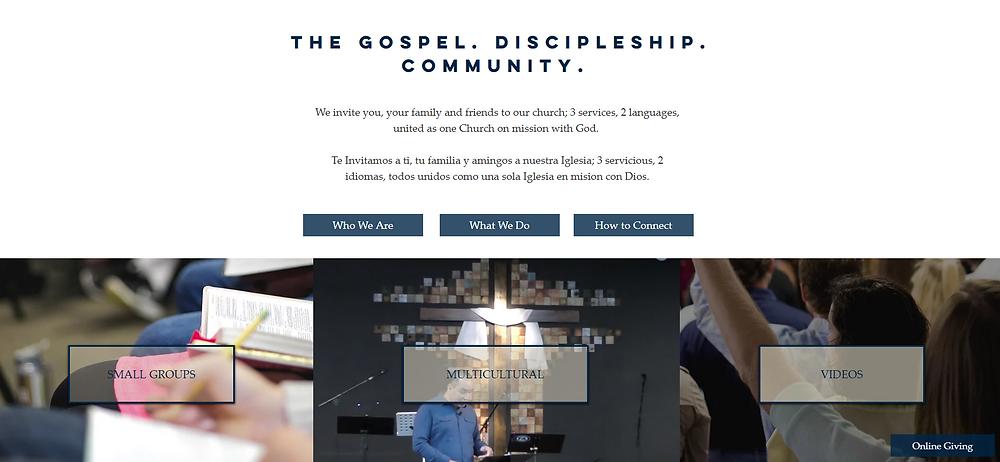 Website Design | Newport | Atlantic Beach | SNL Church