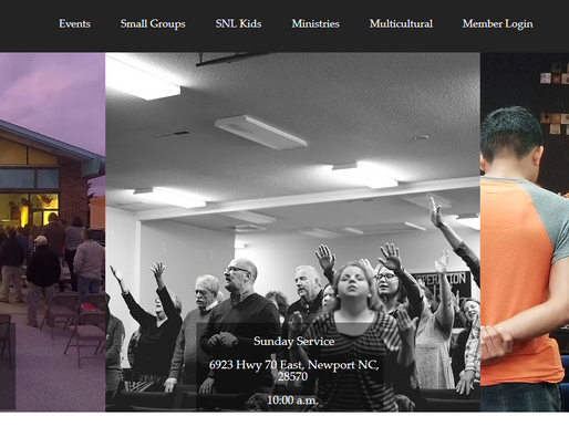 Website Design | SNL Church