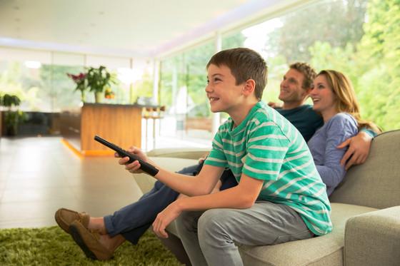 Não dê cinco minutos para seu filho desligar a TV
