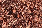 Bulk Red Mulch close up