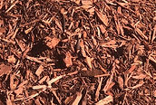 Bulk Red Mulch close up