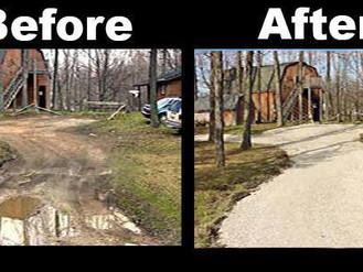 Gravel Driveway Repairs