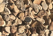 Bulk River Rock close up