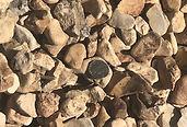 Bulk River Rock close up