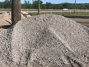 "Bulk Crusher Run 1"" Gravel by the Scoop"