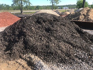 Bulk Black Mulch by the Scoop