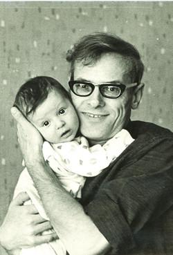 Юрий Дружков (Постников) с сыном