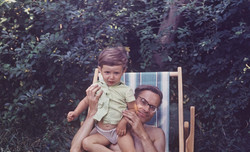 Юрий Дружков (Постников) - мой папа и я