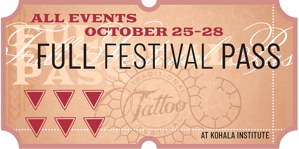 Traditional Tattoo Festival 4 Day Weekend Festival