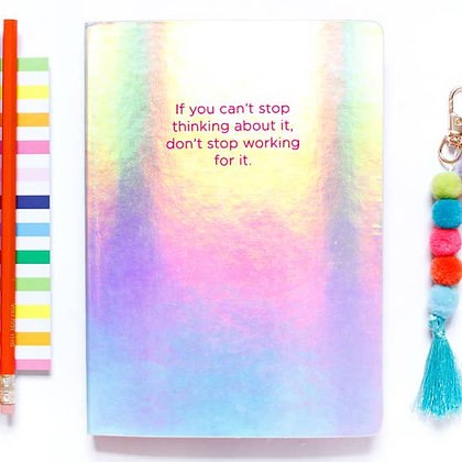 Can't Stop Don't Stop Notebook- Taylor Elliot Designs