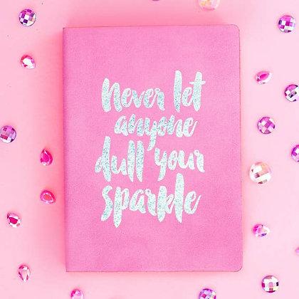 Sparkle Notebook - Lilac, Taylor Elliot Designs