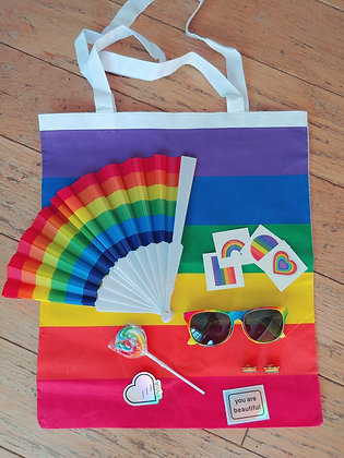 PRIDE LGBQT+ Rainbow 15 PC Party Pack