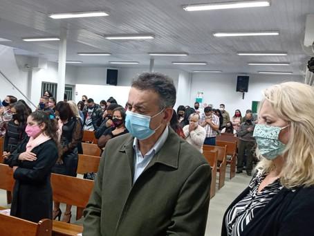 Vereadora participa de posse da IEADC - Moradias Rio Bonito