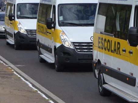 Vans e carros de aplicativos podem dar suporte ao transporte coletivo