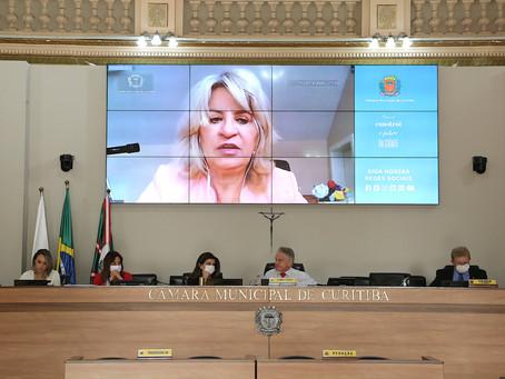 Noemia Rocha faz sugestões à prefeitura que podem facilitar a vida da população durante quarentena
