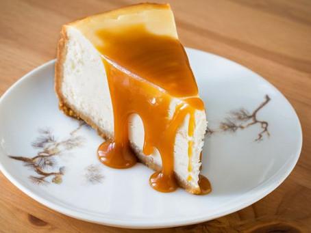 Receita da Noemia - Cheesecake de doce de leite
