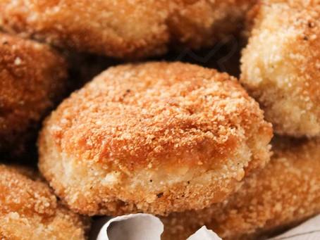 Receita da Noemia - Nuggets de frango para petiscar