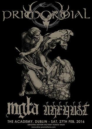 Primordial Tour Poster