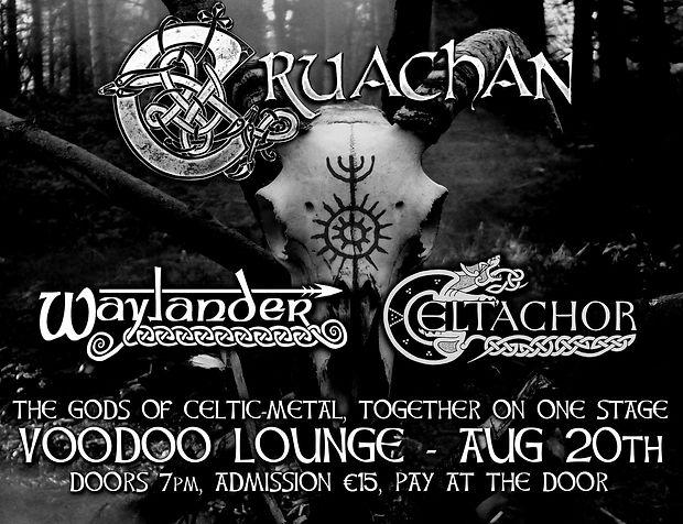 Cruachan Tour Poster