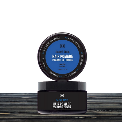SCENT FREE HAIR POMADE 4oz
