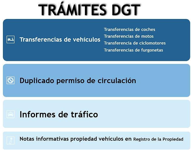 tramites dgt, transferencia coche, motos