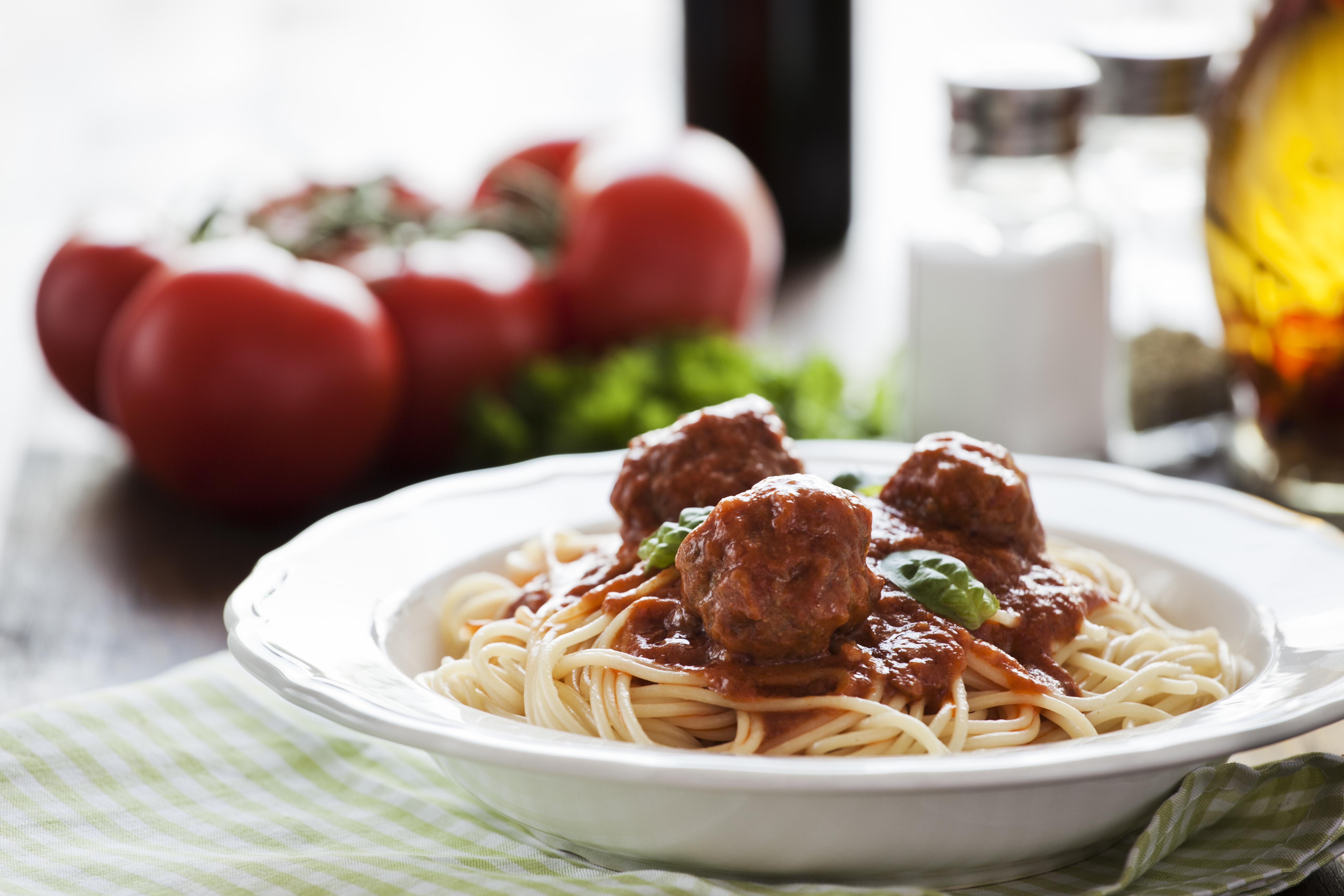 Spaghetti Della casa-184402581