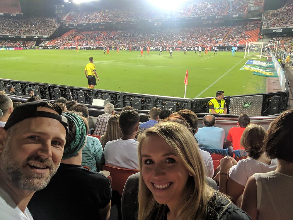 Valencia CF vs Malaga CF at Camp de Mestalla