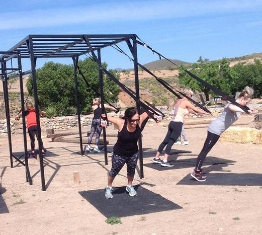Almond House bit training