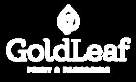Gold Leaf Print & Packaging Logo