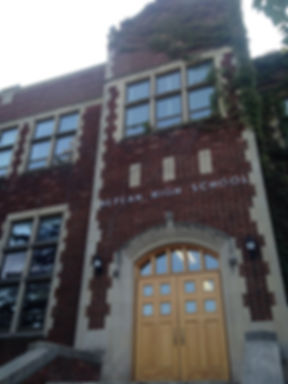 Nepean High School building, Ottawa Ontario Canada, Knightwatch 2019