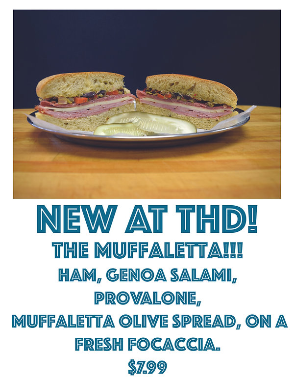 Muffaletta at Town Hall Deli