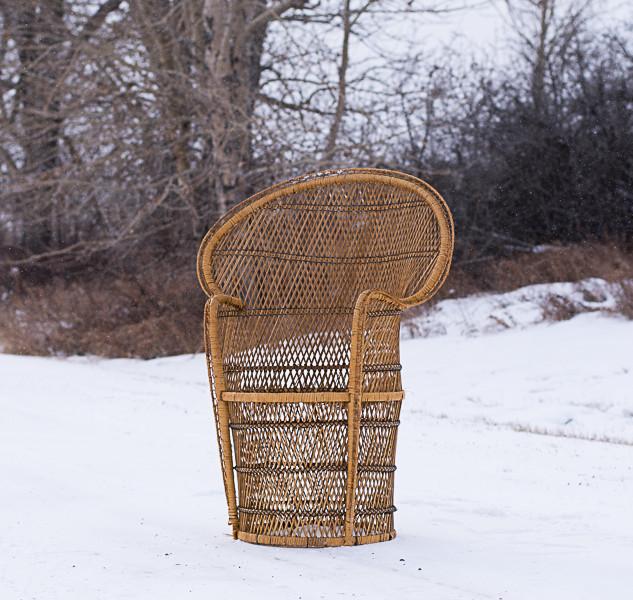 Lowboy Rattan Chair