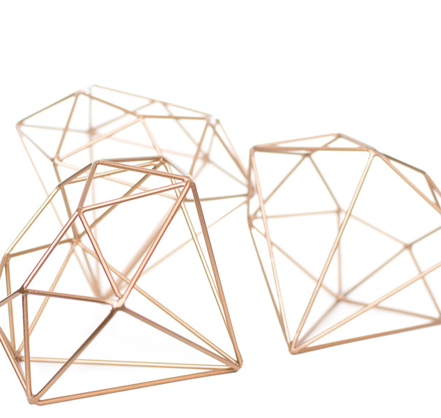 Diamond Geometric Crystals