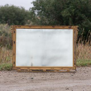 Antique Mercury Mirror