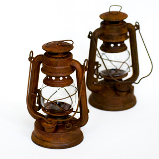 Rusty Mini Lanterns